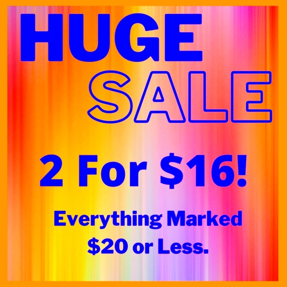 SALE! 2 FOR $16! BUNDLE FOR THE DISCOUNT